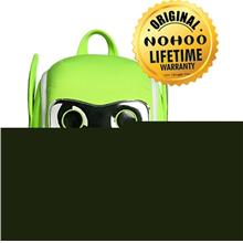 [BUY 1 FREE 1] Nohoo Robot Backpack Neon Green (3-5 years old) - NHB 082 NEON )