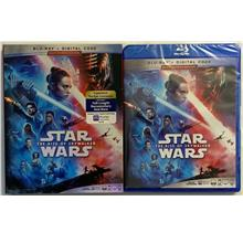 STAR WARS EPISODE IX THE RISE OF SKYWALKER BLU RAY + DIGITAL HD & SLIP