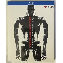 TERMINATOR 6 FILM COLLECTION BLU RAY 6 DISC SET + SLIPBOX FREE NEW ORI
