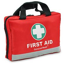 First Aid Kit -309 Pieces- Reflective Bag Design - Including Eyewash, Bandages
