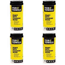 "Tub O Towels Heavy-Duty 7 "" x 8 "" Size Multi-Surface Cleaning Wipes,"