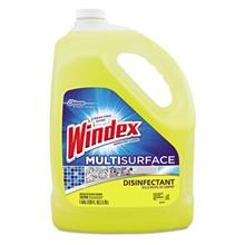 Windex Disinfectant Multisurface All-Purpose Cleaner Refill 1 Gallon- Citrus S