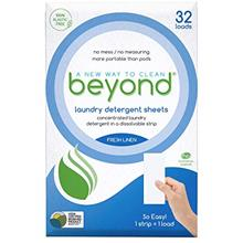 Beyond 100% Plastic Free Concentrated Laundry Detergent Sheets (Laundry Deterg