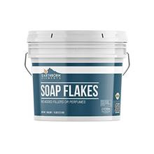 Pure Soap Flakes (1 Gallon) Ingredient to Make Liquid or Powdered Homemade Lau