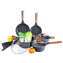 Ultra Nonstick Pots and Pans Set for Cooking - 12 Piece Die-cast Aluminum Kitc