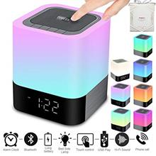 Portable Wireless Bluetooth Speaker -Big Sound,48 Led Changing Color,Light Nig