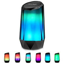 Portable Wireless Bluetooth Speakers 6 LED Lights Modes Stereo Sound Loud Volu