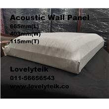 White Acoustic Wall Panel Echo Reduce Sound Proof Panel