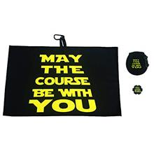 Giggle Golf May The Course Be with You Golf Waffle Towel, Poker Chip & Ball C