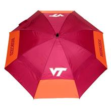 "Team Golf NCAA Virginia Tech Hokies 62 "" Golf Umbrella with Protective Sh"