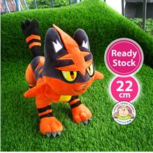 Pokemon Pikachu Torracat Soft Plush Toy Doll (22cm)