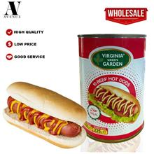 Virginia Green Garden 10 Beef Hot Dogs ( Sausage ) 400g Halal \u0647\u0648\u06