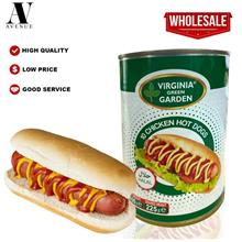 Virginia Green Garden 10 Chicken Hot Dogs ( Sausage ) 400g Halal \u0647\u0648\