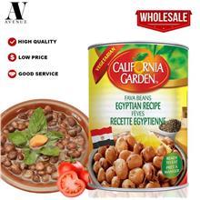 California Garden Foul Medames Egyptian Recipe 400 g Fava Beans Kacang \u0641\
