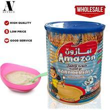 Amazon Baby Cereals with Milk 400 g \u062d\u0628\u0648\u0628 \u0644\u0644\u062