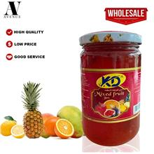 Kd Mixed Fruit Jam 370 g \u0645\u0631\u0628\u064a \u0645\u0634\u0643\u0644 \u0