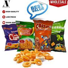 Crispo Value Pack ( Corn Curls 35g - Corn Rings 35g - Corn Crunshi ) e - Multi