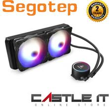 Segotep Becool 240s RGB CPU Cooling PWM Integrated Liquid Water Heat S