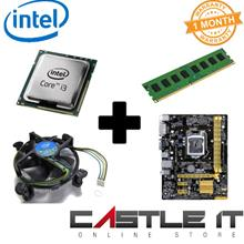 i3 4th Gen Processor Bundle Motherboard H81M 8GB DDR3 Combo Deal