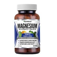 FarmHaven Magnesium Glycinate  & Malate Complex, 100% Chelated for Max Absorpt