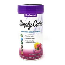 Bluebonnet Nutrition Simply Calm Powder, Calm, Anxiety, Muscle Cramps, Stress