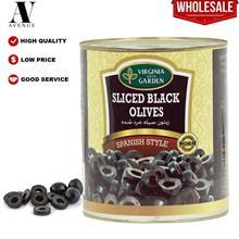 Virginia Green Garden Sliced Black Olives 1.5 Kg \u0632\u064a\u062a\u0648\u064