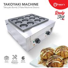 Takoyaki Bomb Machine Electric 2plate 80mm