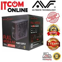 AVF GAMING FREAK KORE 500W 80PLUS BRONZE POWER SUPPLY (GFP-F500M)