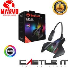 Marvo Scorpion MIC-01 USB Powered 7-Color RGB LED Gaming MICROPHONE