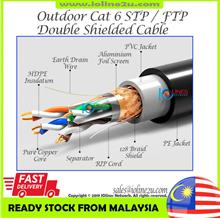 300m Outdoor Cat6 Cat 6 STP FTP LAN Network cable Free 10* Gold Plated Pin RJ4