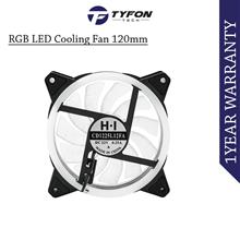 RGB Dual LED Gaming PC Cooling Fan 120mm