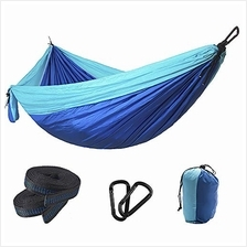 jnneyuu Camping Hammock, Super Light Weight Parachute Hammock with Tree Straps