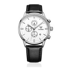 CADISEN C9201 Luxury Business Style Men's Watch ( Silver White )