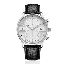 CADISEN C9055 Luxury Business Style men's Watch ( White )