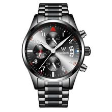 CADISEN Multifunctional Luxury Classic Business Men's Watch ( Black )