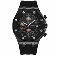 OCHSTIN 6100 Fashion Quartz Men's Watch ( Black )