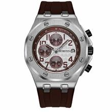 OCHSTIN 6100 Fashion Quartz Men's Watch ( Dark Brown )