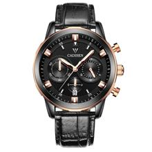 CADISEN 9011G Fashion Men's Watch ( Black Rose Gold )