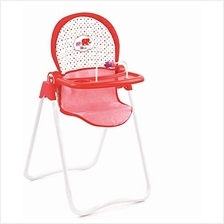Little Mommy Snacky Doll High Chair (D92889), Front Feeding Tray with Toy Bar