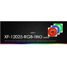 # ID-COOLING XF-12025 RGB Case Fan Trio Set # Snow Edition