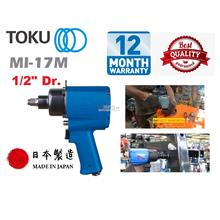 "Toku MI 1/2"" Dr. Twin Hammer Air Impact Wrench"