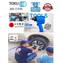"Toku MI-17M 1/2"" Dr. Twin Hammer Air Impact Wrench"