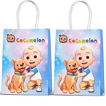 12 Pcs For cocomelon Goodie Bags Birthday Party Supplies For Toddler