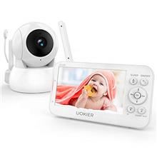 "Baby Monitor, UOKIER 5 "" Video Baby Monitor with Camera and Audio, 1080P"