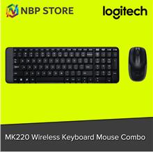 Logitech MK220 Wireless Keyboard Mouse Combo
