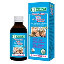 Hurix's Fever  & Cold Syrup for Children (60ml))