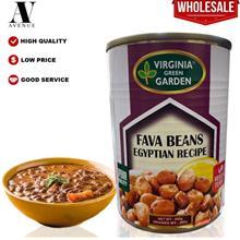 Virginia Green Garden Foul Medames Egyptian Recipe - Fava Beans 400g \u0641