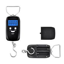 CUBE Compact, Handheld Backlit LCD Digital Weighing Scale- 50kg/10g