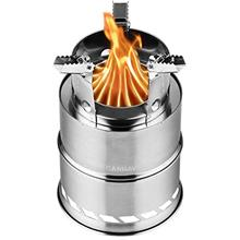 CANWAY Camping Stove, Wood Stove/Backpacking Stove,Portable Stainless Steel Wo