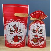 Lion Dance CNY New Candy Gift Packaging Bag Plastic Bag